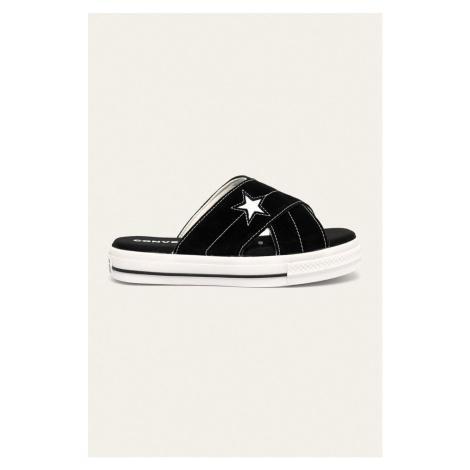 Converse - Kožené pantofle