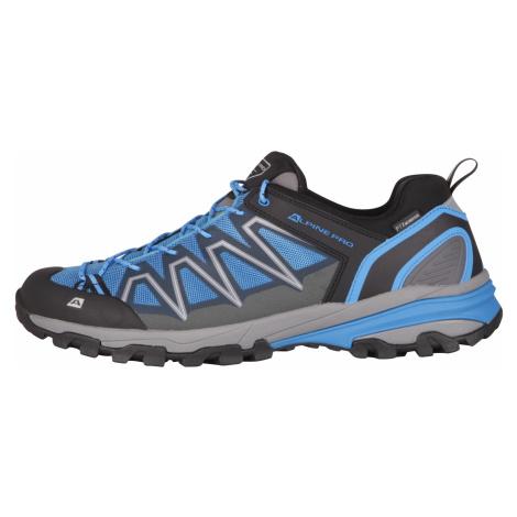 Alpine Pro LOBENE MODRÁ Outdoorová obuv s antibakteriální stélkou