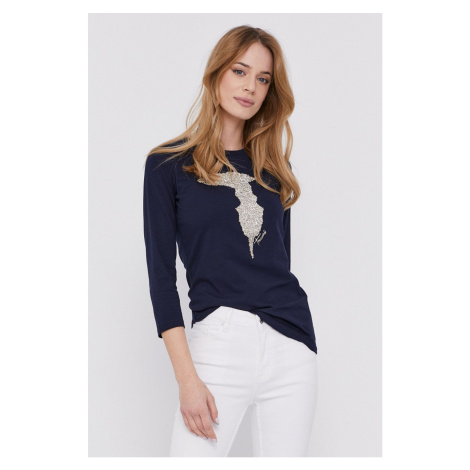 Trussardi - Tričko s dlouhým rukávem