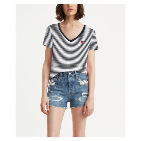 Levis dámské tričko s výstřihem a logem 85341-0004 Levi´s