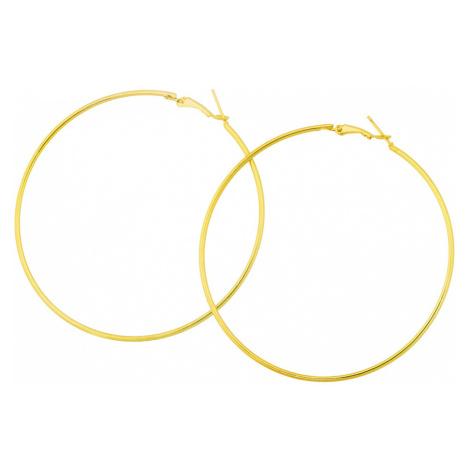 Linda's Jewelry Náušnice Simple Fashion velké kruhy IN220 Průměr: 6,5