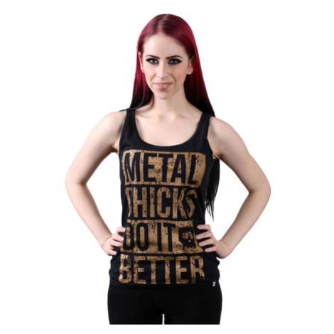 METAL CHICKS DO IT BETTER Metal chicks Černá
