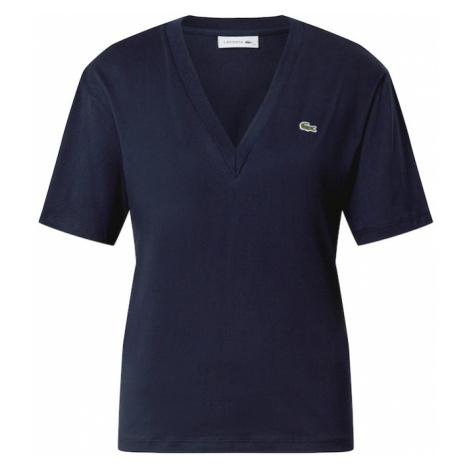 LACOSTE Tričko námořnická modř