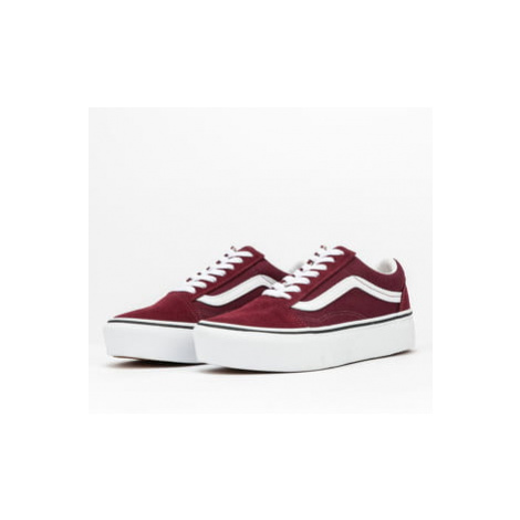 Vans Old Skool Platfor port royale / true white
