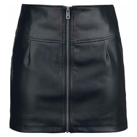 Black Widow Black Widow Mini sukně černá