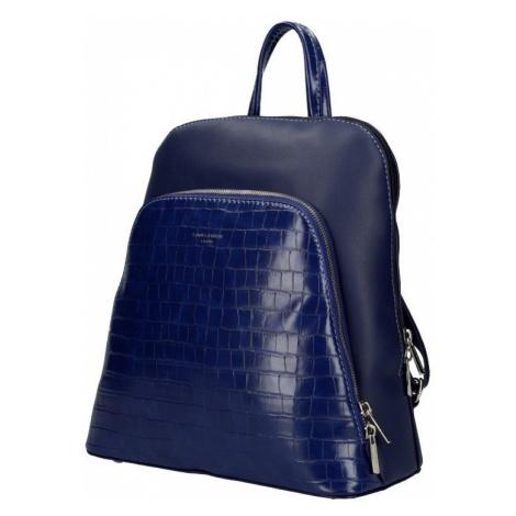 Tmavě modrý dámský módní batůžek Flo David Jones