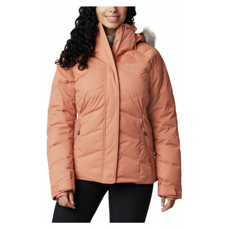 Bunda Columbia Lay D Down™ II Jacket W - růžová
