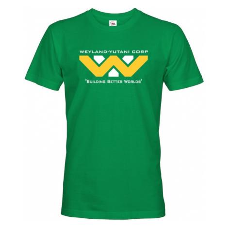 Pánské tričko Weyland Yutani -  motiv z oblíbené série Vetřelec/Aliens/ BezvaTriko