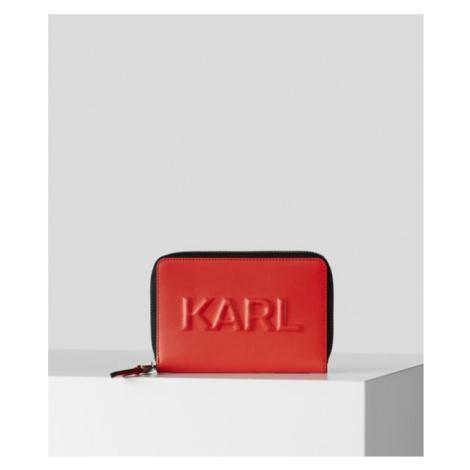 Peněženka Karl Lagerfeld Karl Seven Emboss Md Zip Wt