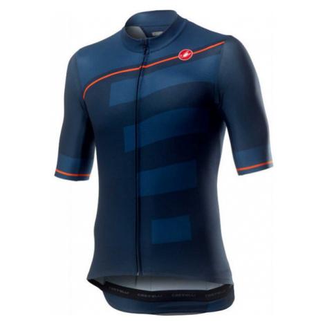 Castelli TROFEO tmavě modrá - Pánský dres