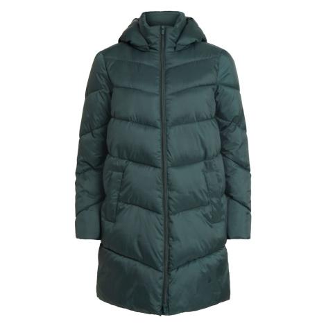 VILA Přechodný kabát 'Adaya' tmavě zelená