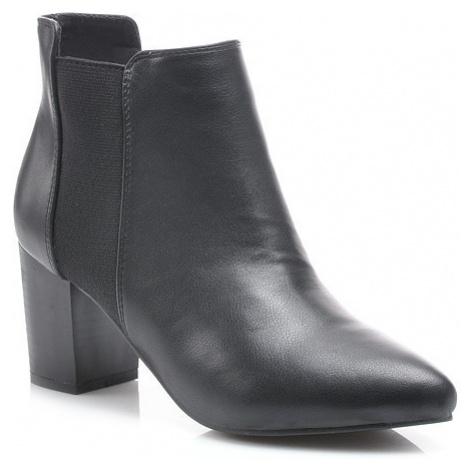 Podzimní černé kotníkové boty PK
