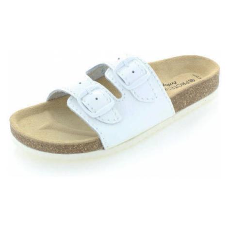 Dámské bílé pantofle Protetika T13