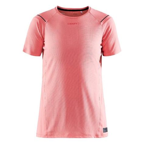 Dámské tričko CRAFT PRO Hypervent S/S Pink