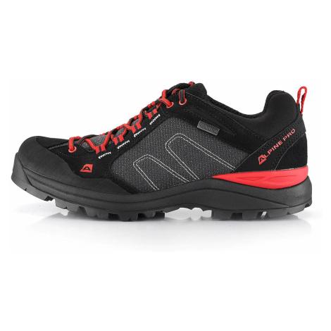 Outdoorová obuv Alpine Pro ISRAF - černá