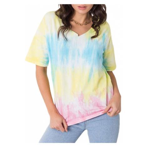 Barevné batikované tričko BASIC