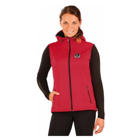 Dámská vesta s kapucí Litex J1051 | červená