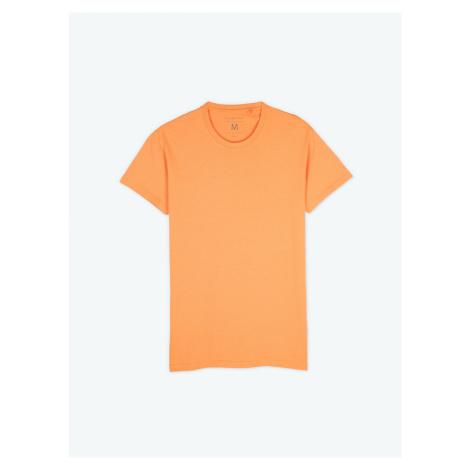GATE Jednoduché tričko regular fit s krátkým rukávem