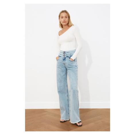 Trendyol Super High Waist Wide Leg Jeans