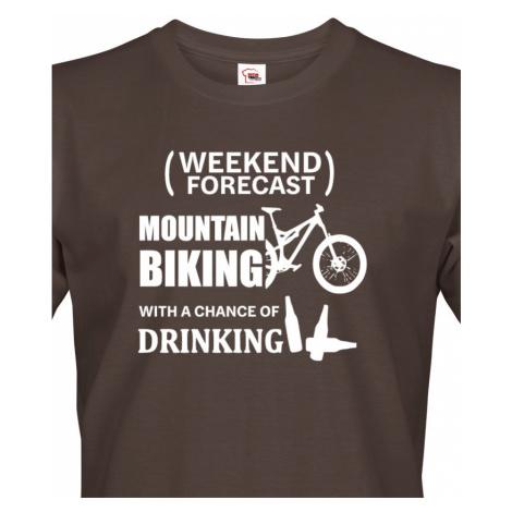 Pánské tričko MTB - pro milovníky horských kol nutnost BezvaTriko