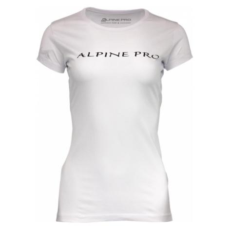 ALPINE PRO TRACTA Dámské triko LTSM459000G bílá