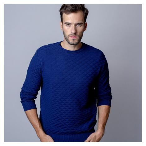 Pánský svetr s jemným vzorem 9945 Willsoor