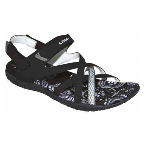 LOAP CAIPA Dámské sandály SSL18130V11A black/bl.de blanc