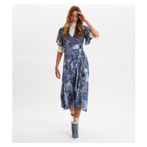 Šaty Odd Molly Belladonna Dress - Modrá