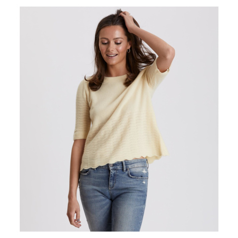 Svetr Odd Molly Soft Pursuit Sweater - Žlutá