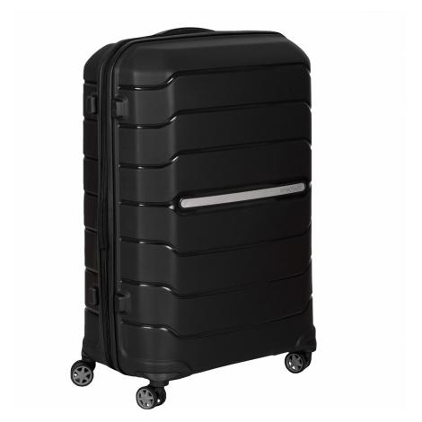 Černý cestovní kufr na kolečkách Samsonite