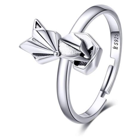 Linda's Jewelry Stříbrný prsten Foxy Liška Ag 925/1000 IPR055 Velikost: Univerzální