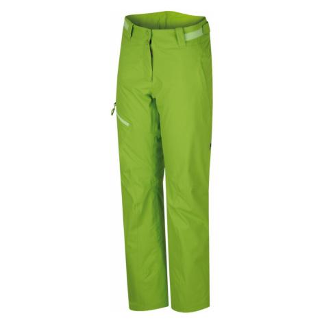 HANNAH Tibi Dámské lyžařské kalhoty 216HH0062HP04 Lime green