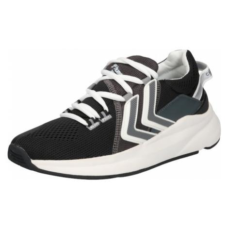 Hummel Sportovní boty černá / bílá