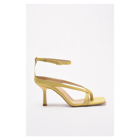 Trendyol Yellow Women's Classic Heeled Shoes