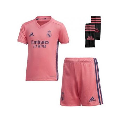 Adidas Venkovní souprava Real Madrid 20/21 Mini Růžová