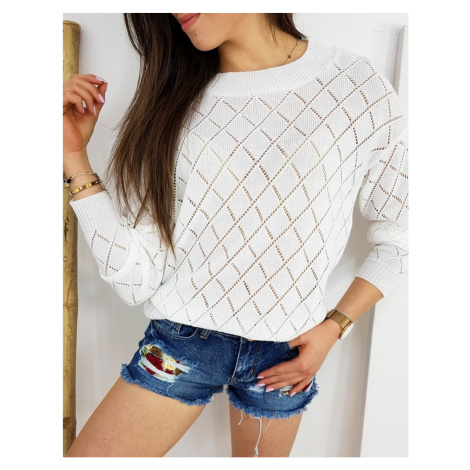 Women's sweater FISTONS ecru MY0752