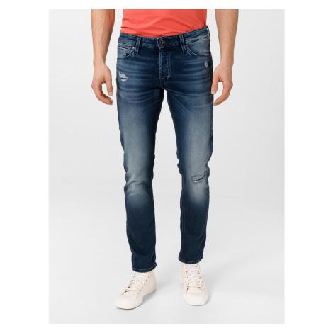 Glenn Icon Jeans Jack & Jones Modrá