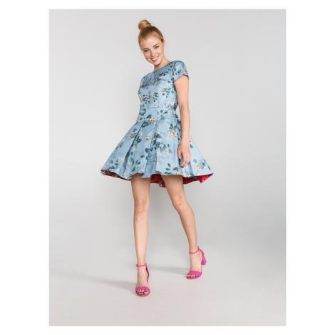 Šaty French Connection Modrá