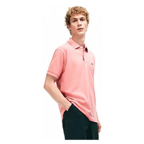 Lacoste S/S BEST POLO světle růžová - Pánské polo tričko