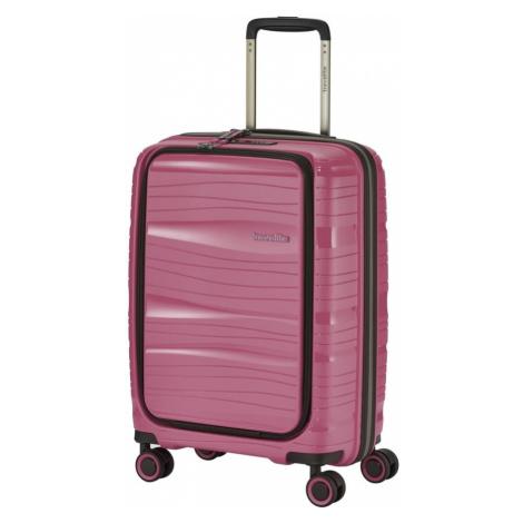 Travelite Kabinový cestovní kufr Motion S Front pocket Rose 43 l