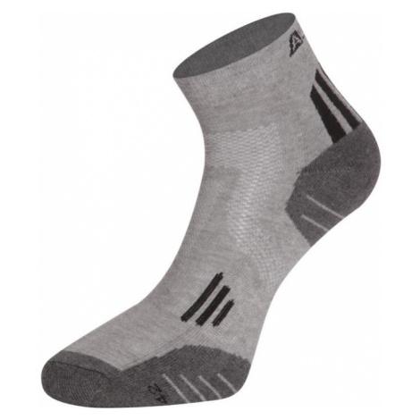 ALPINE PRO AXION 3 Unisex ponožky USCR052990 černá