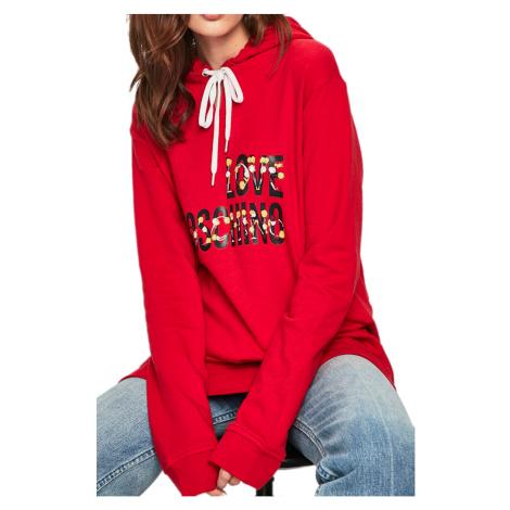 Červená mikina - LOVE MOSCHINO