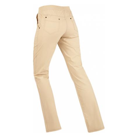 LITEX Kalhoty dámské dlouhé bokové. 99565401 béžová