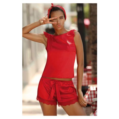 Saténový pyžamový SET Vanessa Excellent Beauty