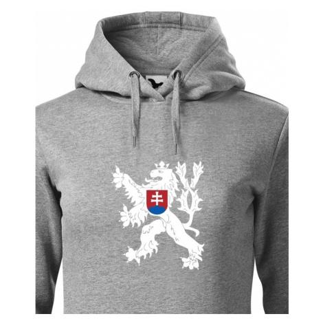 Dámská mikina Státní znak Československa -  ideální dárek BezvaTriko