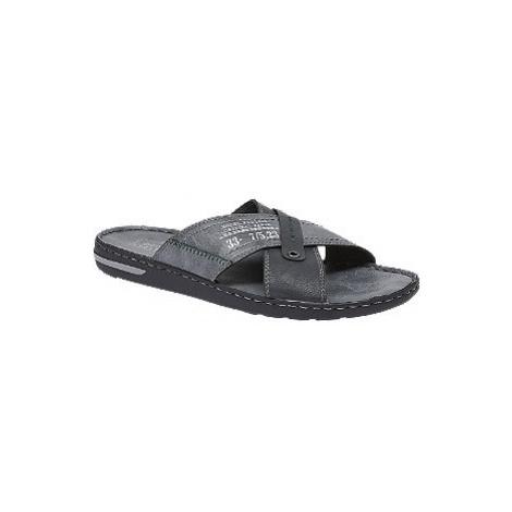 Modré komfortní pantofle Easy Street
