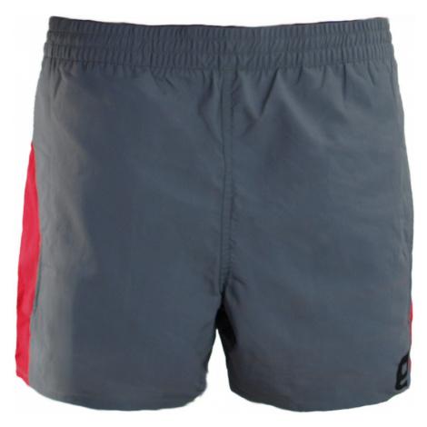 ENVY GUAM Pánské sportovní šortky MM0140BQDGY Černá-potisk
