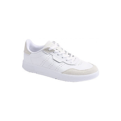 Bílé kožené tenisky adidas Courtrook