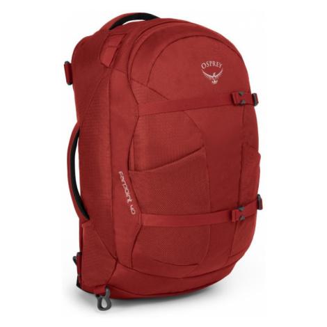 Batoh OSPREY Farpoint 40 jasper red
