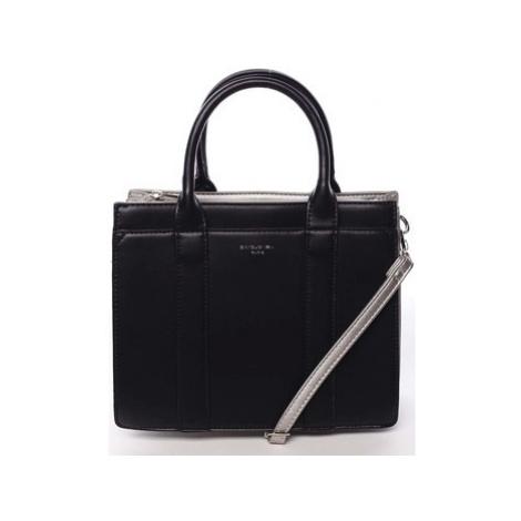 David Jones Malá dámská kabelka do ruky černá - Akiba Černá